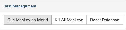 Run the Monkey on the Island server