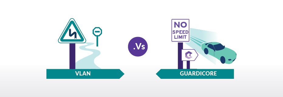 VLANs vs Guardicore